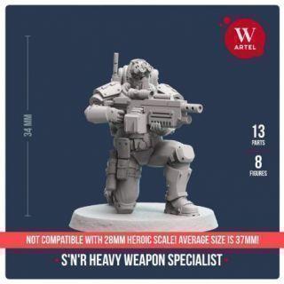 S`n`R Heavy Weapon Specialist