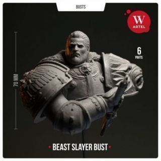 The Beast Slayer Bust