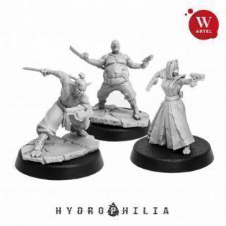 Faceless Agents (3 miniatures)
