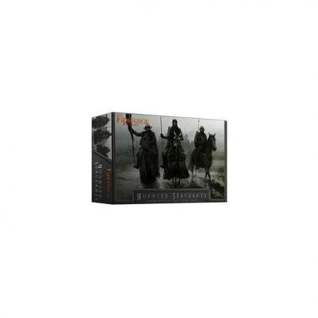 Mounted Sergeants : 12 plastic multipart plastic knights
