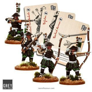 Ashigaru with Bows and Muskets
