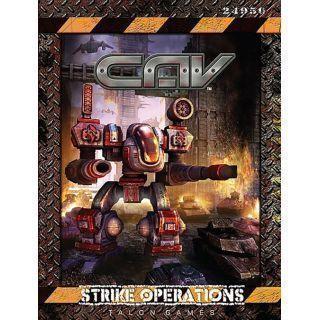 CAV: STRIKE OPERATIONS HARDCOVER RULEBOOK