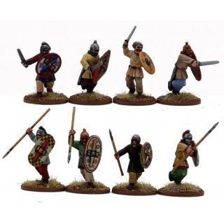 Gallic/Celt Warriors on Foot