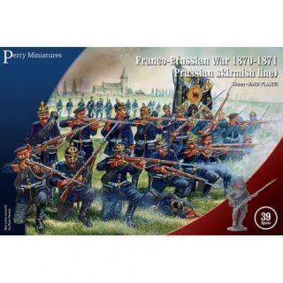 Franco-Prussian War 1870-1871 (Prussian Infantry Skirmishing)