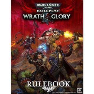 Warhammer 40000 Roleplay Wrath & Glory Rulebook - EN