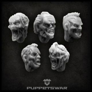 Zombie heads