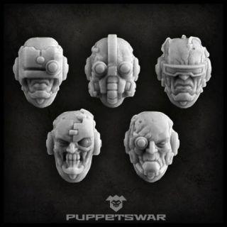Cyborg heads