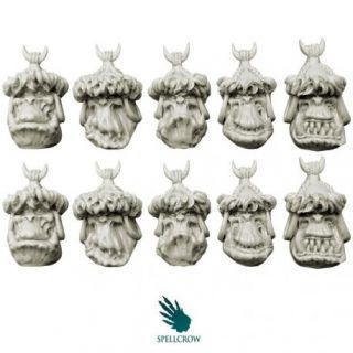 Steppe Orcs Heads