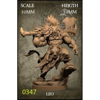 Leo 30mm Scale