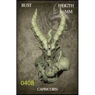 Capricorn Bust