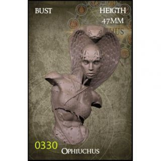 Ophiuchus Bust