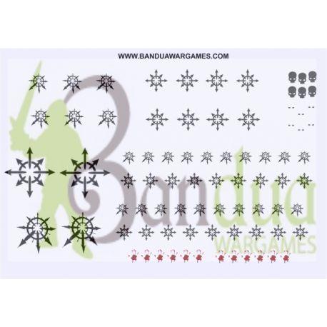 Chaos Symbols - Decal Sheet