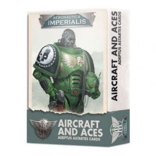 AERONAUTICA IMPERIALIS: ASTARTES AIRCRAFT AND ACES CARDS