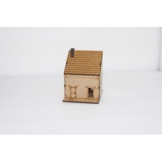 Edificio Medianera 15Mm Bajo ( Flames of War , Napoleonic , WWI , WWII ,)