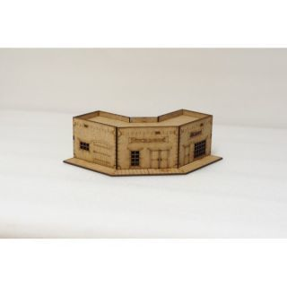 corner building 15 mm ( Flames of War , Napoleonic , WWI , WWII ,)