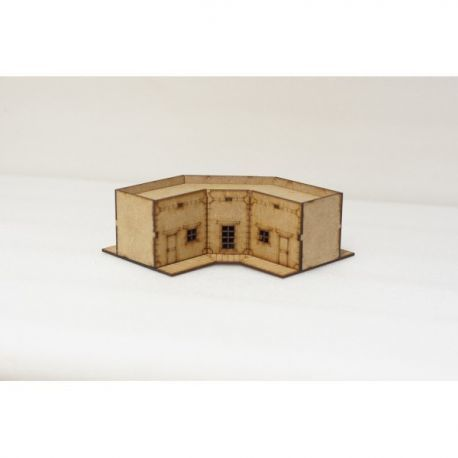 Edificio Esquina 15Mm ( Flames of War , Napoleonic , WWI , WWII ,)