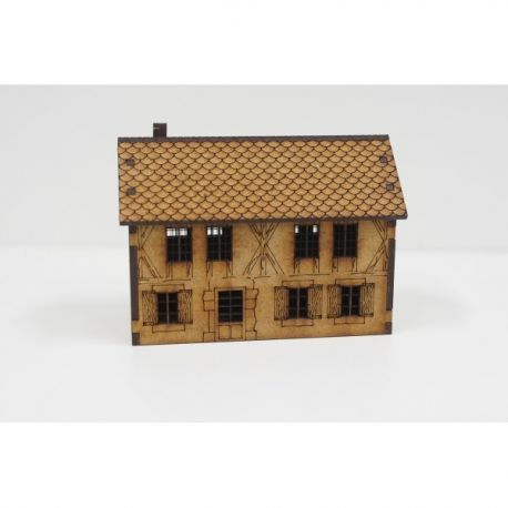 Country house 15 mm ( Flames of War , Napoleonic , WWI , WWII ,)