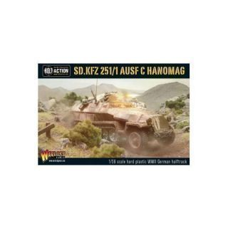 Sd.Kfz 251/1 Ausf C Hanomag (German Halftrack)