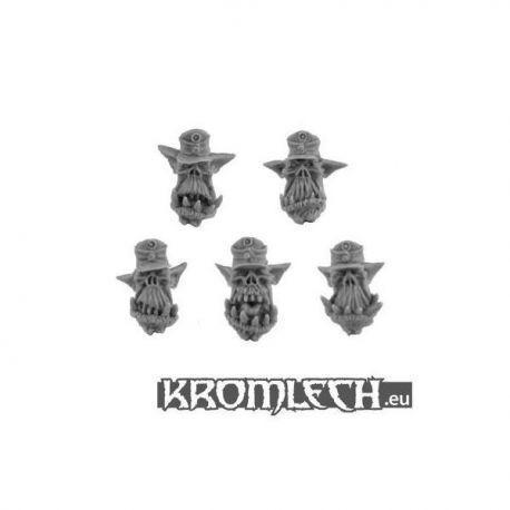 Orc Afrika Korps Heads (10)