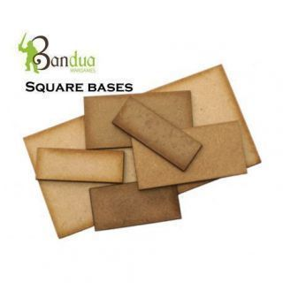 Square/Rectangle Bases MDF