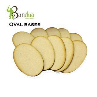 Oval Bases MDF
