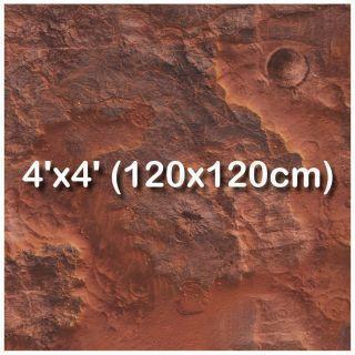 4'x4' (120x120cm)