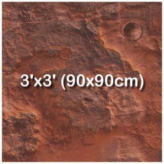 3'x3' (90x90cm)