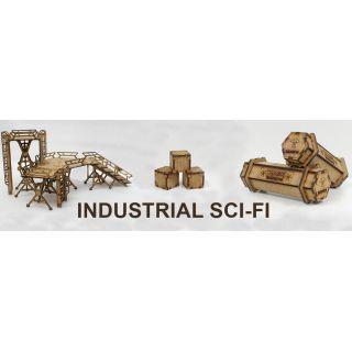 Escenografía Industrial para wargames