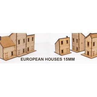Casas Europeas 15mm